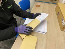 郵送物の封入・封緘・宛名印刷等